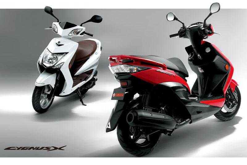 Yamaha chạy đua với Honda bằng xe mới