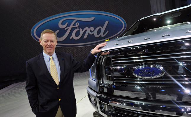 Ford lãi ròng 5.67 tỷ USD trong năm 2012