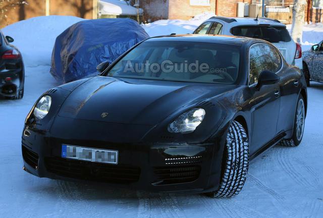 Porsche nâng cấp Panamera