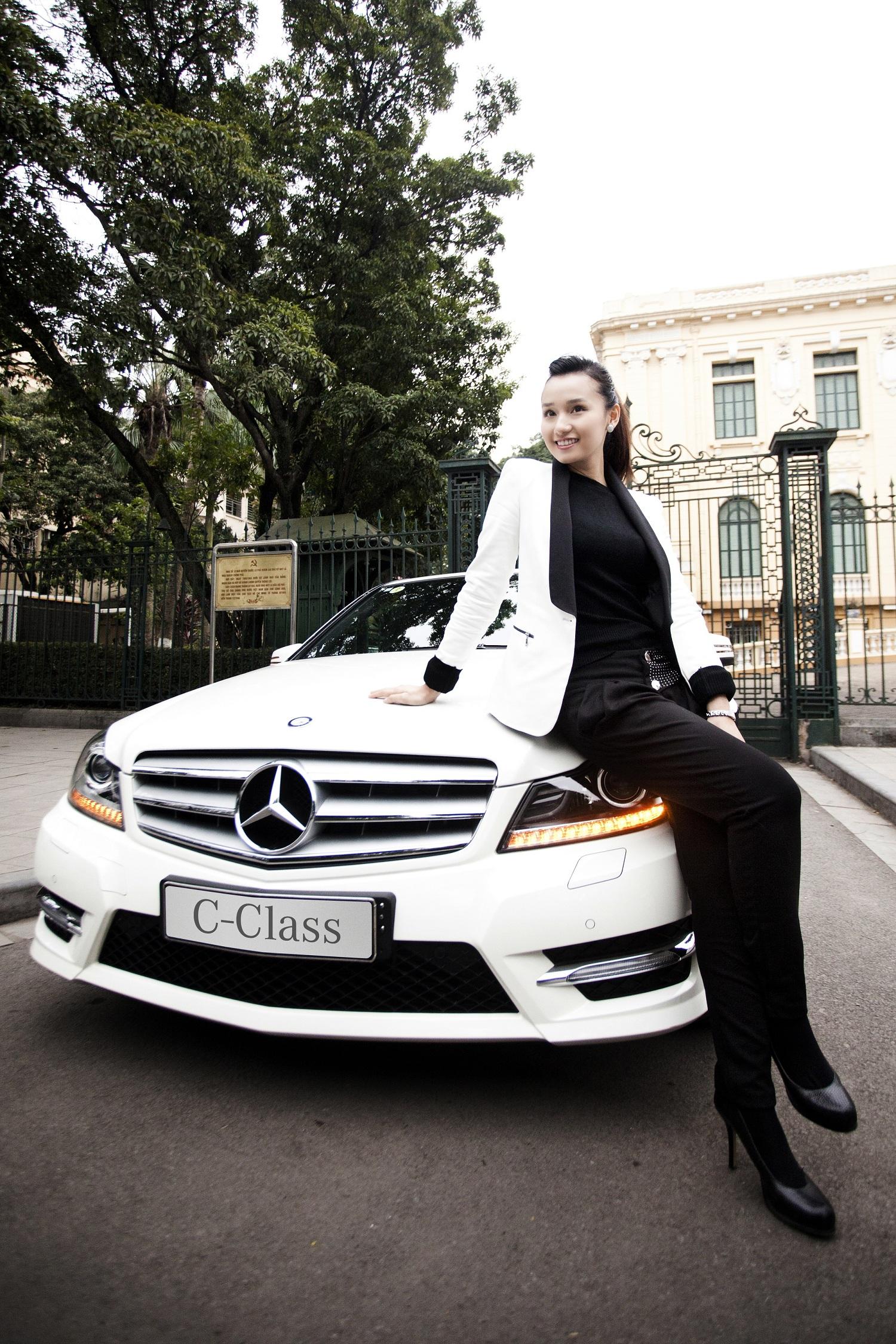 Chơi Tết cùng Mercedes C-Class
