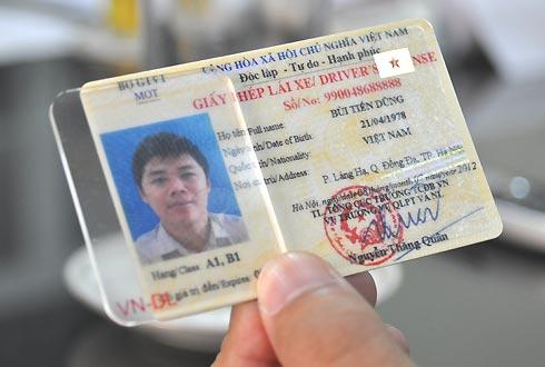 Nỗi buồn về giấy phép lái xe mới