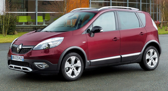 Renault ra mắt xe Crossover tại Geneva 2013