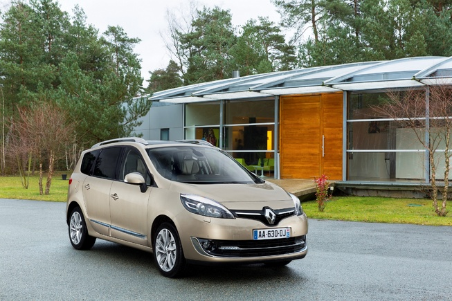 Renault Scénic 2013 sẽ chào sân tại Geneva