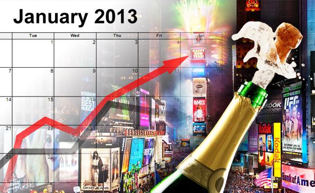 Tháng 1/2013: Toàn ngành ô tô khởi sắc
