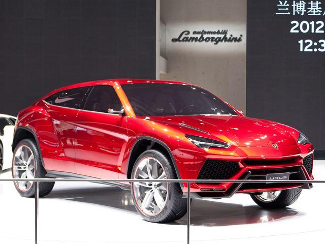 Lộ mặt Lamborghini Urus
