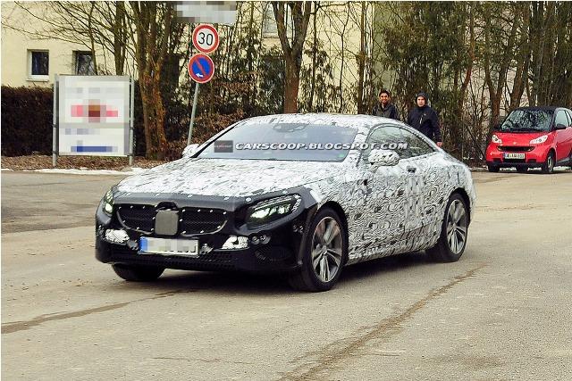 Mercedes S-Class Coupe tái xuất vào 2015