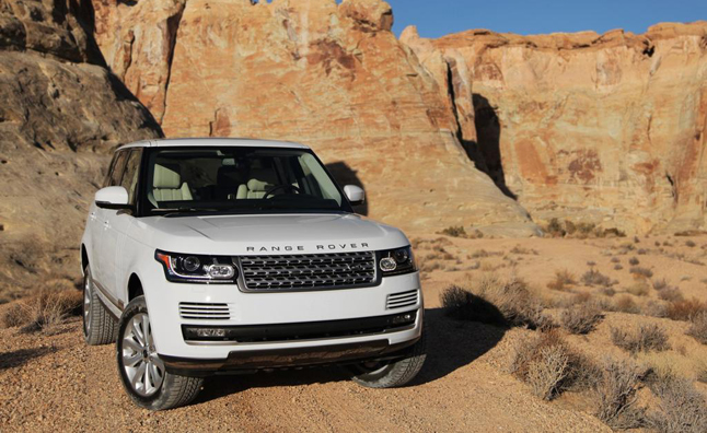 Range Rover 2014 mạnh mẽ với động cơ V6