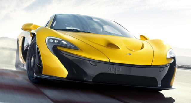 McLaren P1 có sức mạnh 916 mã lực