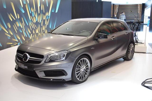 Mercedes A45 AMG lộ diện tại Geneva Motor Show