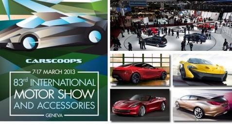 """Tuần 4/2: Geneva Motor Show 2013 nơi hội tụ """"anh tài"""""""