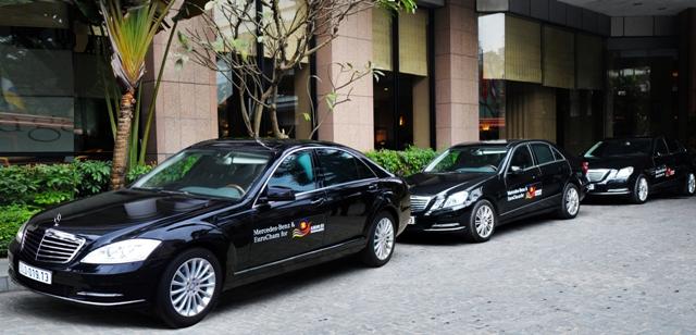 Mercedes - nhà vận chuyển chính hội nghị ASEAN – EU