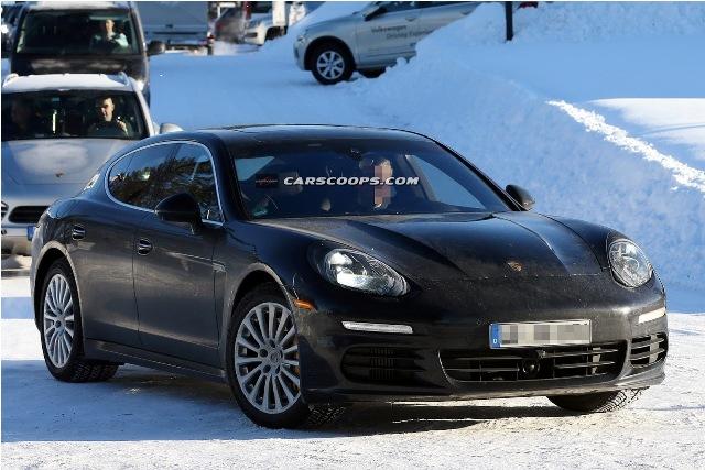 Porsche Panamera lộ ảnh nâng cấp