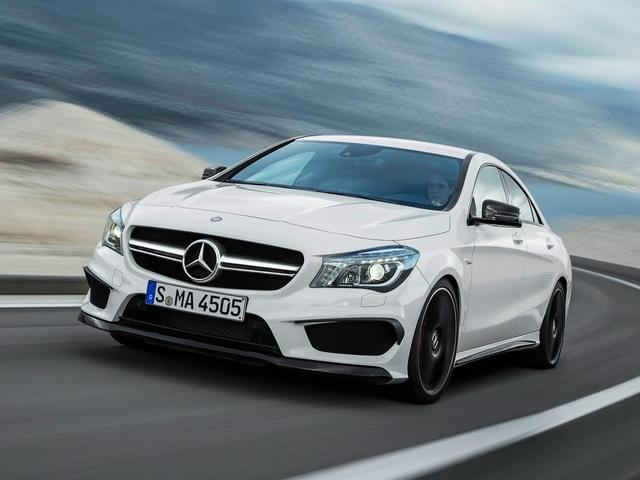 Hình ảnh chính thức của Mercedes CLA 45 AMG