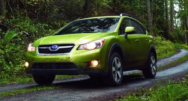 Subaru tiết lộ  XV Crosstrek Hybrid 2014