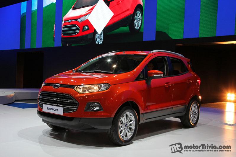 Ford EcoSport sẽ sớm về Việt Nam