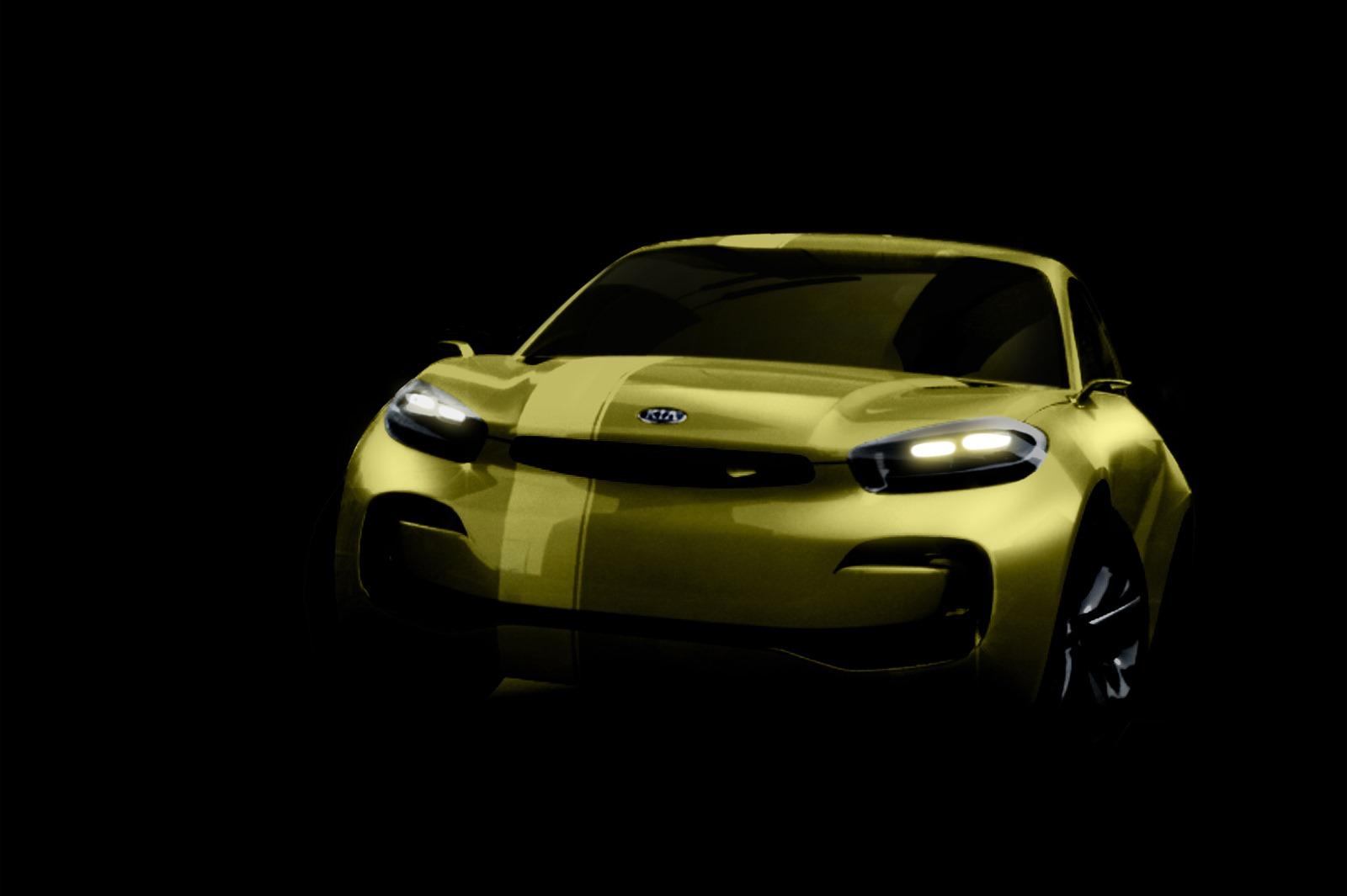 Kia tiết lộ CUB coupe Concept