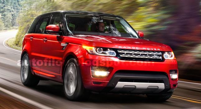 Lộ thêm hình ảnh Range Rover Spor 2014