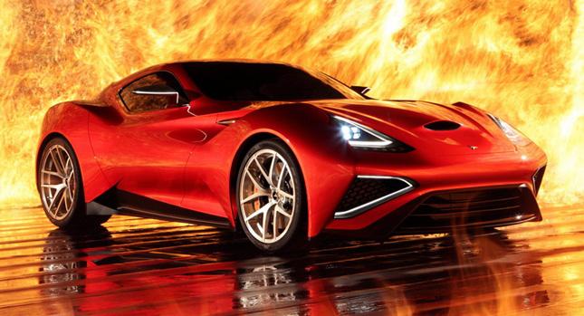 Màn ra mắt rực lửa của Icona Vulcano Coupe