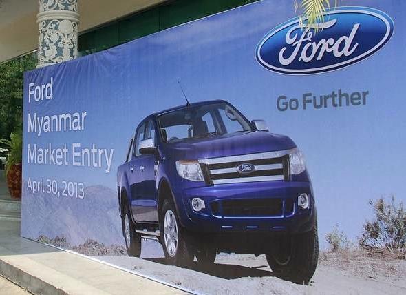 Ford bắt đầu khai thác thị trường Myanmar