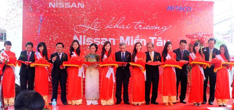 Nissan Việt Nam khai trương đại lý 3S thứ 9