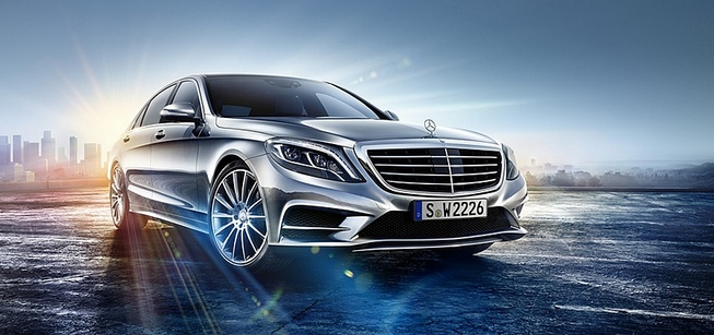 Mercedes-Benz S-Class 2014 lộ diện qua video