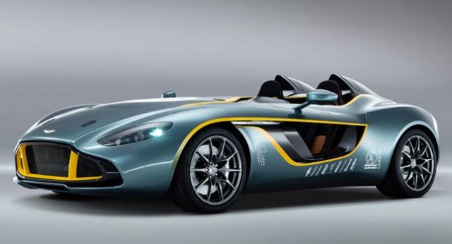 CC100 Speedster concept – xế lạ của Aston Martin