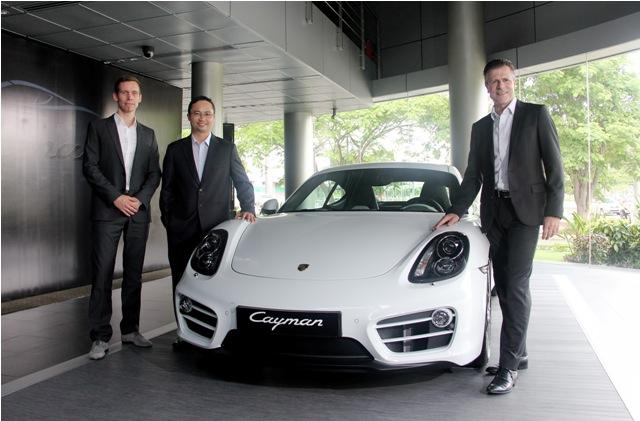 Porsche Cayman thế hệ thứ 3 ra mắt tại Việt Nam