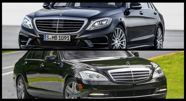 So sánh Mercedes-Benz S-Class cũ và mới
