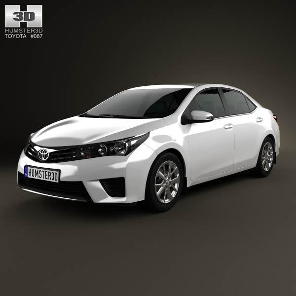 Cập nhật ảnh nóng Toyota Corolla Sedan 2014