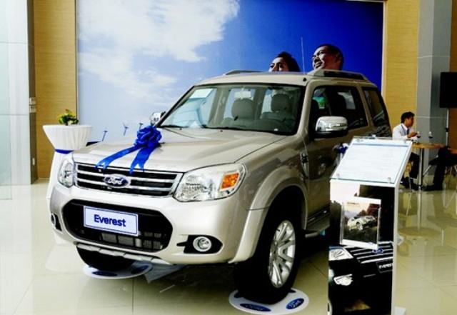 Xem chi tiết Ford Everest 2013 trước khi ra mắt