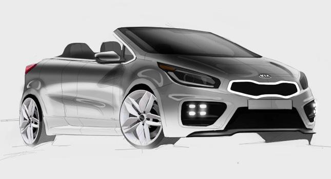 Kia Pro Cee'd GT sẽ có bản mui trần