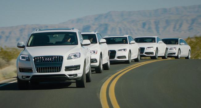 Audi công bố giá dòng xe diesel 2014