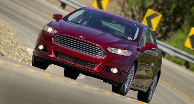 Ford Fusion 2014 sẽ dùng động cơ 1.5 lít