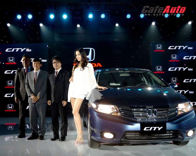 Honda City về Việt Nam với giá 540 triệu đồng