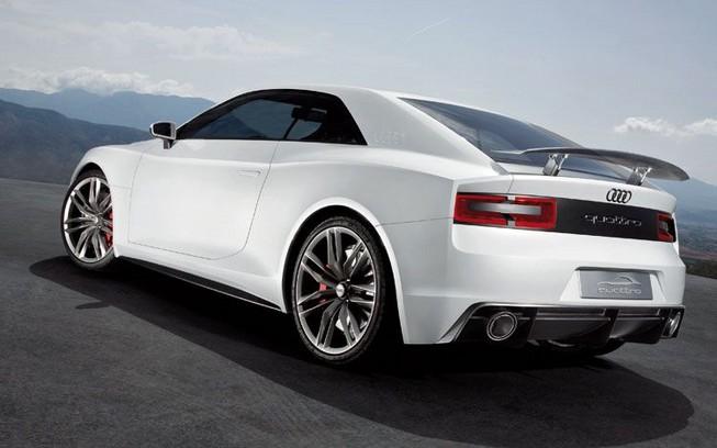 Audi Quattro Coupe ra mắt tại Frankfurt
