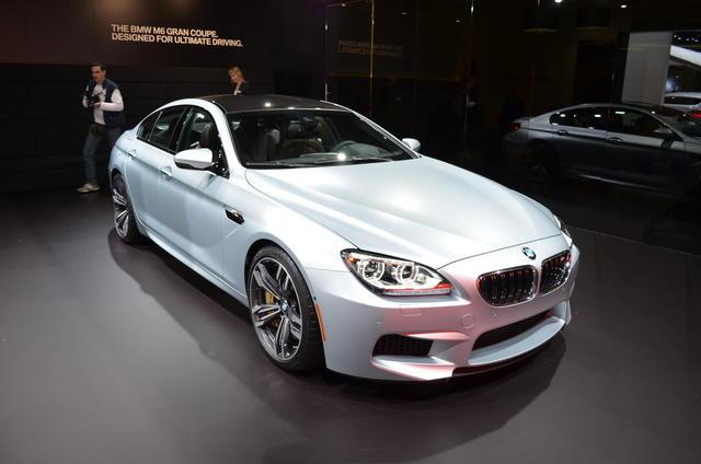 BMW M6 Gran Coupe có giá từ 116.150 USD