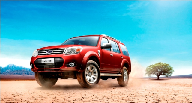 Ford Everest về Việt Nam với giá 774 triệu đồng