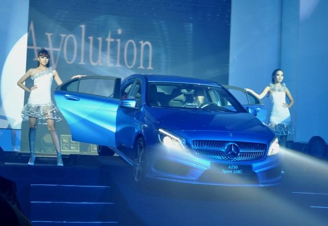 Mercedes-Benz A-Class ra mắt đầy ấn tượng