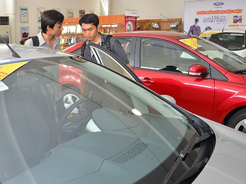 Ngành ô tô kỳ vọng thuế mới
