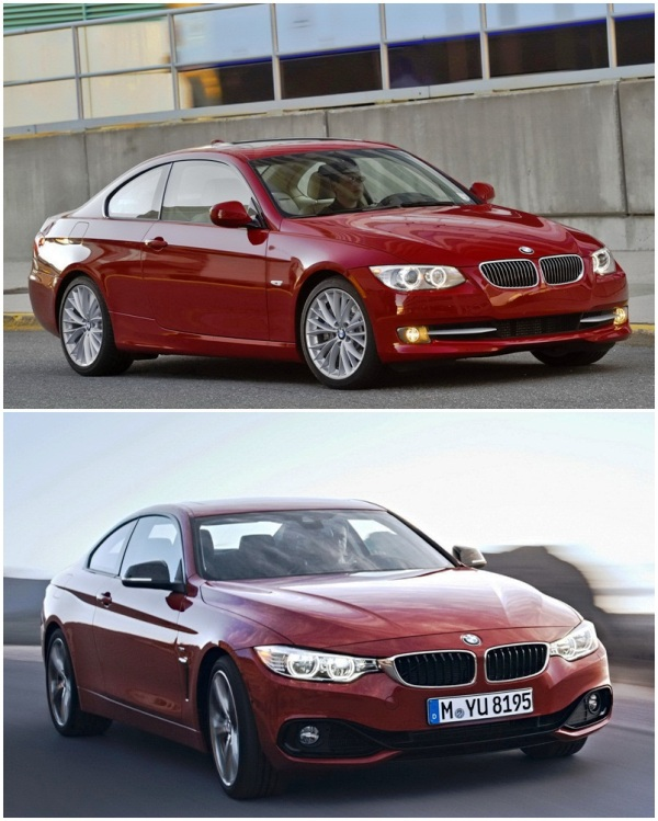So sánh BMW 4-Series và 3-Series Coupe