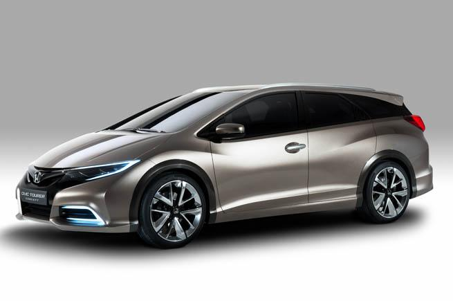 Honda dự định ra mắt Civic Tourer Type S
