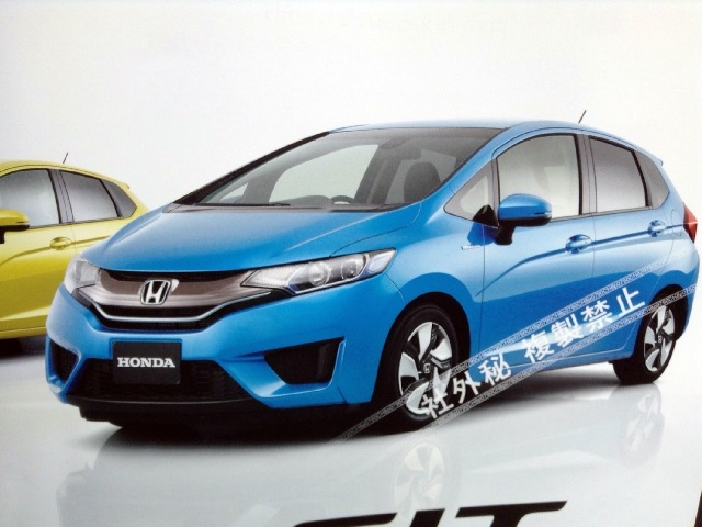 Lộ diện Honda Fit / Jazz 2014