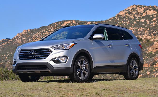 Hyundai Santa Fe 2013 bị lỗi trục trước