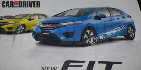 Rò rỉ hình ảnh Honda Fit đời 2015