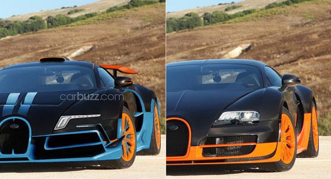 Siêu xe Bugatti Veyron thế hệ mới chỉ là sản phẩm của photoshop