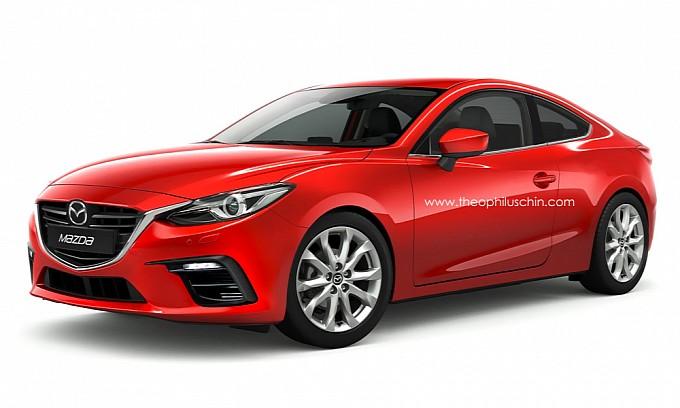 Đến lượt Mazda3 Coupe 2014 lộ diện