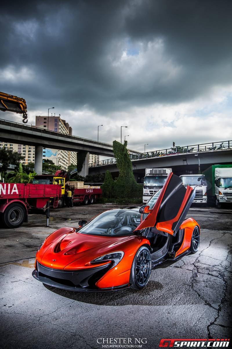 McLaren P1 ra mắt hoành tráng ở Hồng Kông