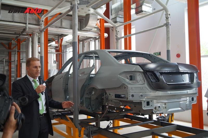 Mercedes-Benz khai trương nhà máy sơn tiên tiến nhất thế giới tại Việt Nam