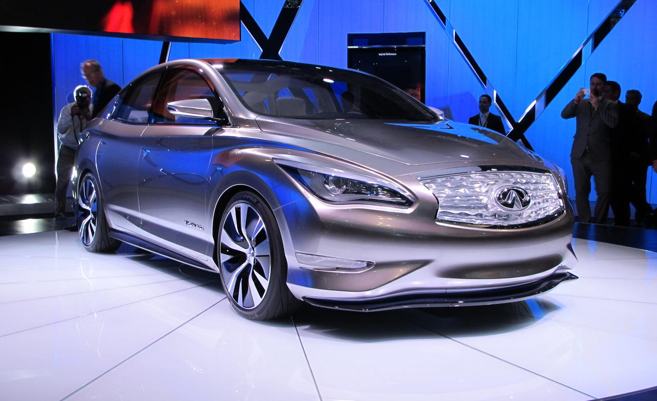 Nissan hoãn sản xuất xe điện Infiniti LE