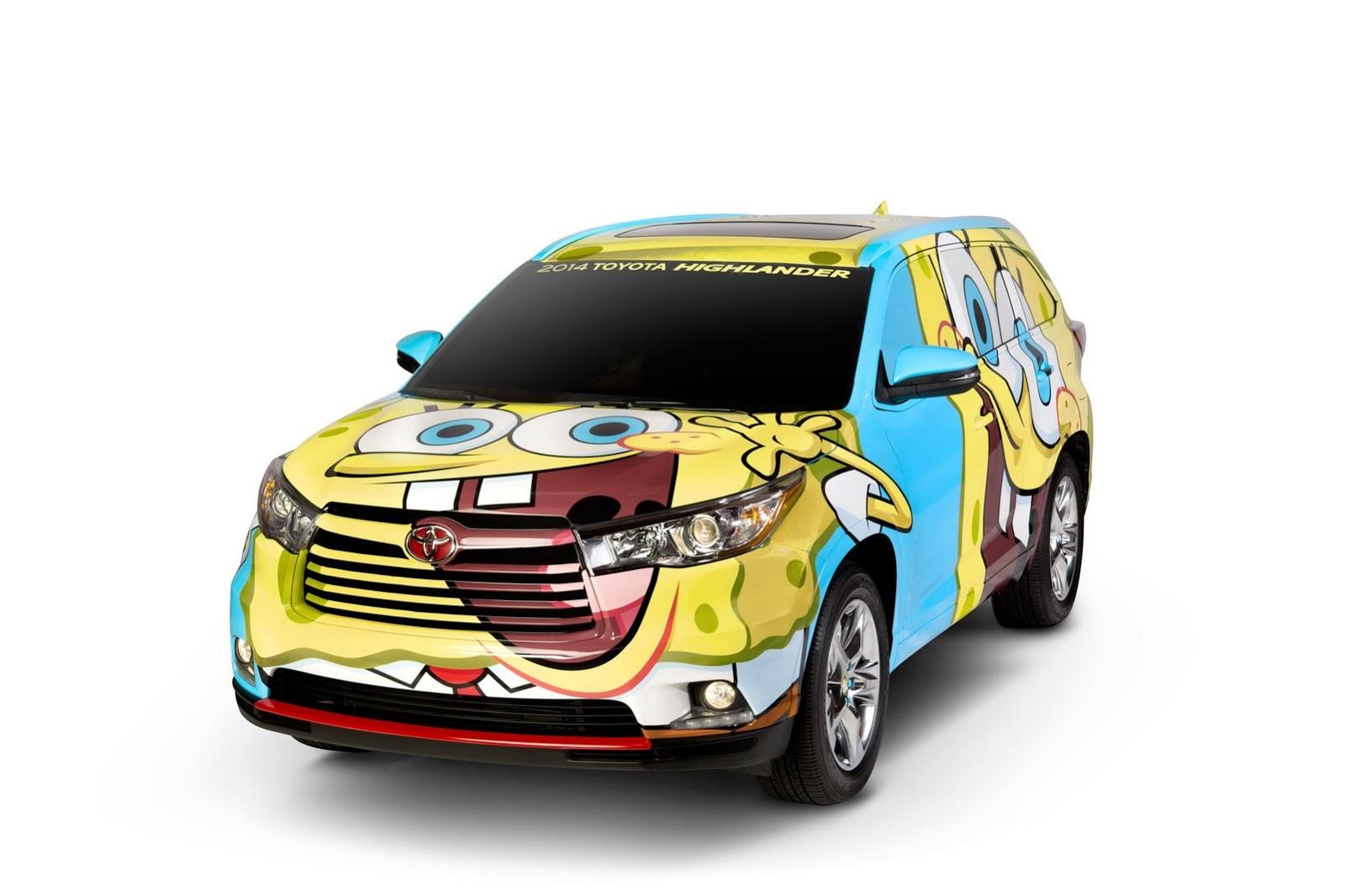 Toyota Highlander SpongeBob SquarePants: thú vị hay vớ vẩn?